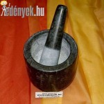 Mozsár - Márványmozsár fekete KP – 128/00 – PH