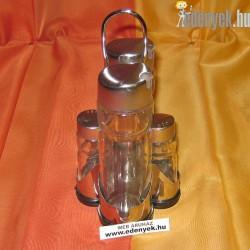Üveg só-borsszóró