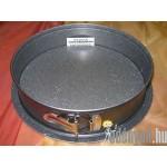Gránit bevonatos kapcsos tortaforma 26 cm KP – 99/55 – AMB