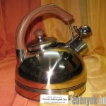 Indukciós teafőző 2,30 literes rozsdamentes KP – 12/87 – DOM