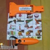 Zöldség-gyümölcshámozó, szeletelő és díszítő KP – 1/1 – CKM/S