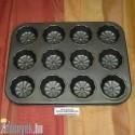 Muffin sütőforma cirádás 12 db-os 121 - OL