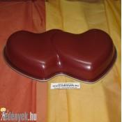 Dupla szív tortaforma FK-2/2