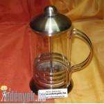 Tejhabosító és kávékészítő 600 ml 40/43-AMB/CS