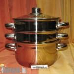 Párolóedény 4 részes indukciós 2,6 liter KP – 15/48–20 – PH