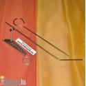 Krumplifúró spirálozó sziromvágó fém KOC