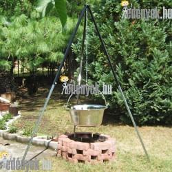 30 literes rozsdamentes gulyás bogrács 3547 JAN
