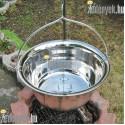 Rozsdamentes gulyás bogrács 30 literes 3547