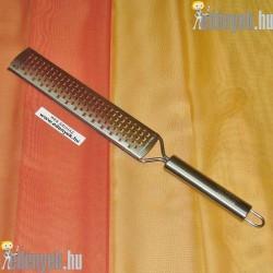 Rozsdamentes hosszú reszelő 388501 BQT
