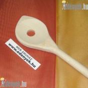 Lyukas fakanál szögletes 30 cm KP – 30/5