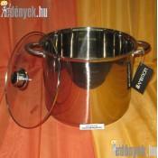 Rozsdamentes indukciós fazék 13,5 literes 687890 AMB