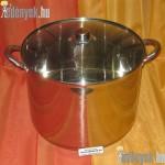 Rozsdamentes indukciós fazék 19 literes 687845 AMB