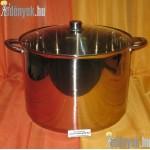 Rozsdamentes indukciós fazék 22 literes 687852 AMB