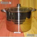 Rozsdamentes indukciós fazék 16 literes KP-363/003-BQT