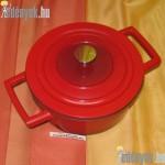 Fedős indukciós fazék Qualum Basic bevonattal 2,50 literes 054/258-AMB
