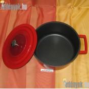Fedős indukciós fazék Qualum Basic bevonattal 4 literes 054/258-AMB