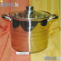Indukciós rozsdamentes fazék 7 literes 362/592-BQT
