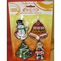Karácsonyi sütőforma kiszúró 4x1 K