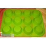 Szilikon muffin sütőforma mini 12 db - os KP – 85/25 – KH