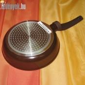 Gránit bevonatos indukciós nyeles serpenyő 20 cm 0211 AMB