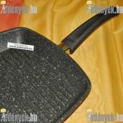 Indukciós grill serpenyő gránit bevonattal  AG28/M RL