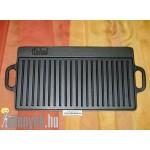 Öntöttvas grill-lap kétoldalas 4224 ITL