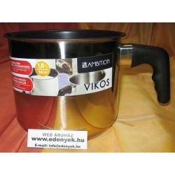 Indukciós tejforraló rozsdamentes grafit bevonattal 1,8 literes 0449 AMB