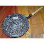 Zománcozott nyeles serpenyő 30 cm TFA