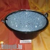Zománcozott gulyás bogrács 3 literes KP – 3/1 – KC
