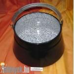 Halfőző bogrács 10 literes KC