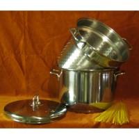 Indukciós tésztafőző edény