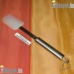 Rozsdamentes spatula szilikon lapáttal KP – 19/23 – GTX