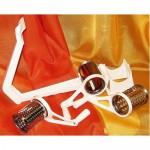 Sajt és diódaráló kézi 3  betétes műanyag KP – 34/05 - ITL