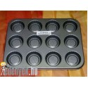 Muffin sütőforma 12 db-os cirádás 5829 - BQT