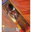 Kanál kés villa famarkolatú evőeszközkészlet TRM