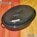 Zománcozott ovális kacsasütő 34 cm 741/342-BB
