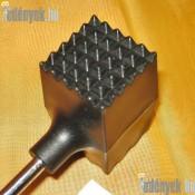 Húsklopfoló gumibevonatós fejjel 25 cm 143/372-DAJ