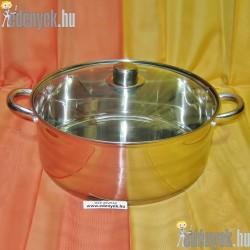 Indukciós rozsdamentes lábas 7,70 literes 473/580-BQT