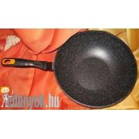 Wok - Márvány bevonatos wok