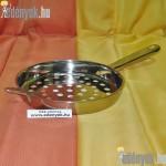 Rozsdamentes nokedliszaggató nyeles KP-022/428-TOR