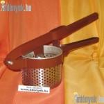 Burgonyatörő krumplitörő és töpörtőkészítő rozsdamentes 11 KC