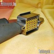 Rozsdamentes fokhagymatörő kivehető kosárral 968/265-AMB