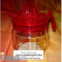 Üveg citromcsavaró, citromfacsaró