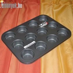 Muffin sütőforma tapadásmentes bevonattal 12 db-os 9398 - AMB