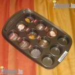 Muffin sütőforma 12 részes kerámia bevonattal 267540 DAJ
