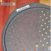 Pizza sütőforma lyukacsos gránit bevonattal 33 cm 830/104-AMB