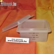 Négyoldalú reszelő, szeletelő gyűjtődobozzal KP – 76/24 – AMB