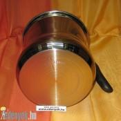 Rozsdamentes indukciós tejforraló dupla fallal 2,5 literes KP – 158/48 – PH