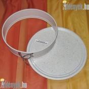 Gránit bevonatos kapcsos tortaforma 26 cm 829863 AMB