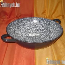 Zománcozott wok